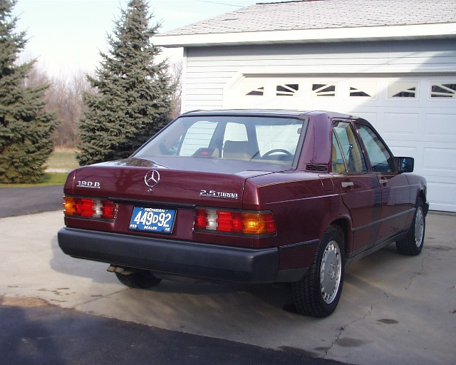 Carfax Report Free >> '87 190D 2.5 Turbo